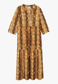 Kids ONLY - KONCOCO MIDI DRESS - Denní šaty - golden yellow - 0