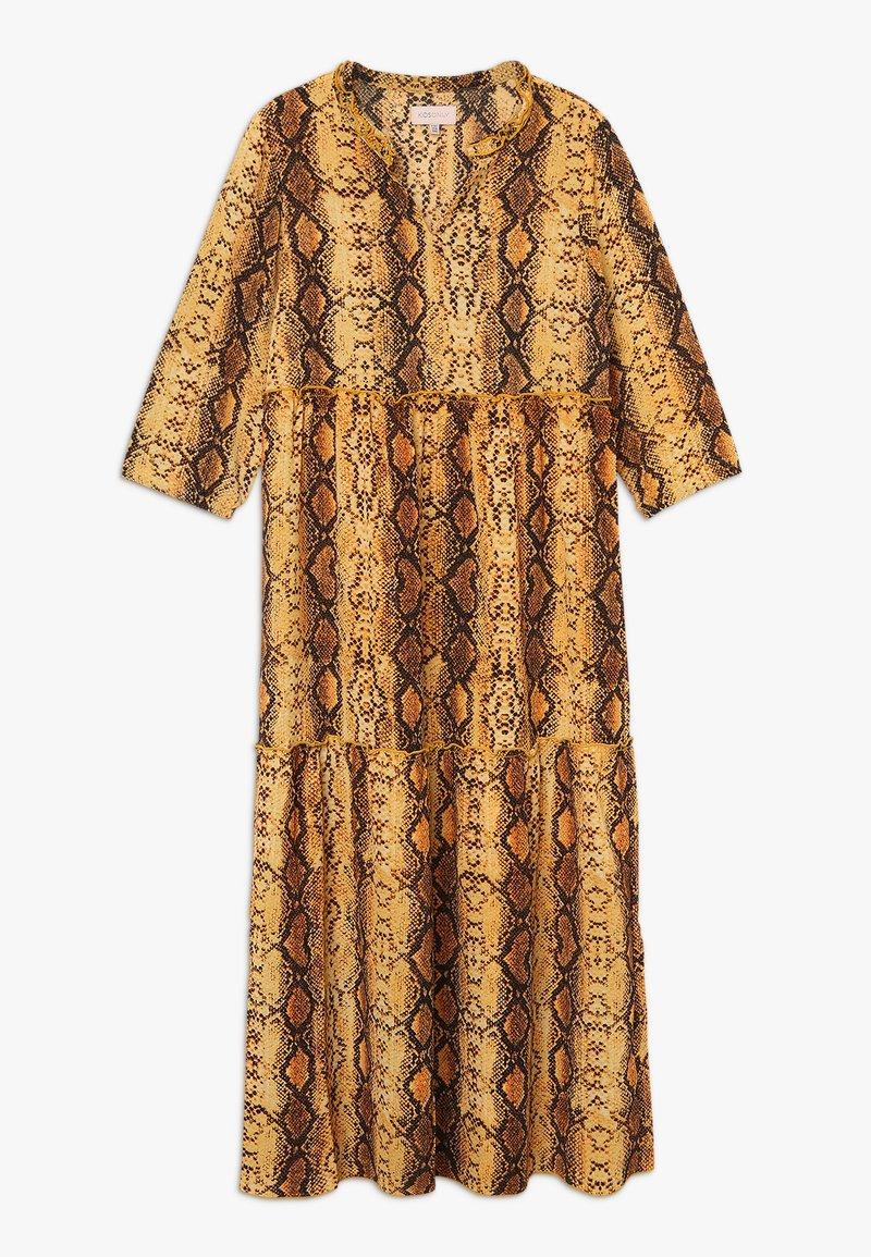 Kids ONLY - KONCOCO MIDI DRESS - Denní šaty - golden yellow