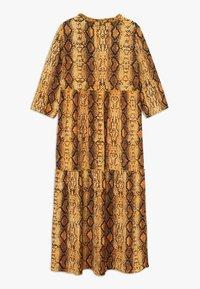Kids ONLY - KONCOCO MIDI DRESS - Denní šaty - golden yellow - 1