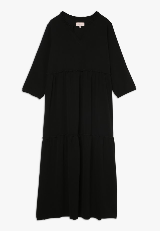 KONCOCO MIDI DRESS - Robe d'été - black