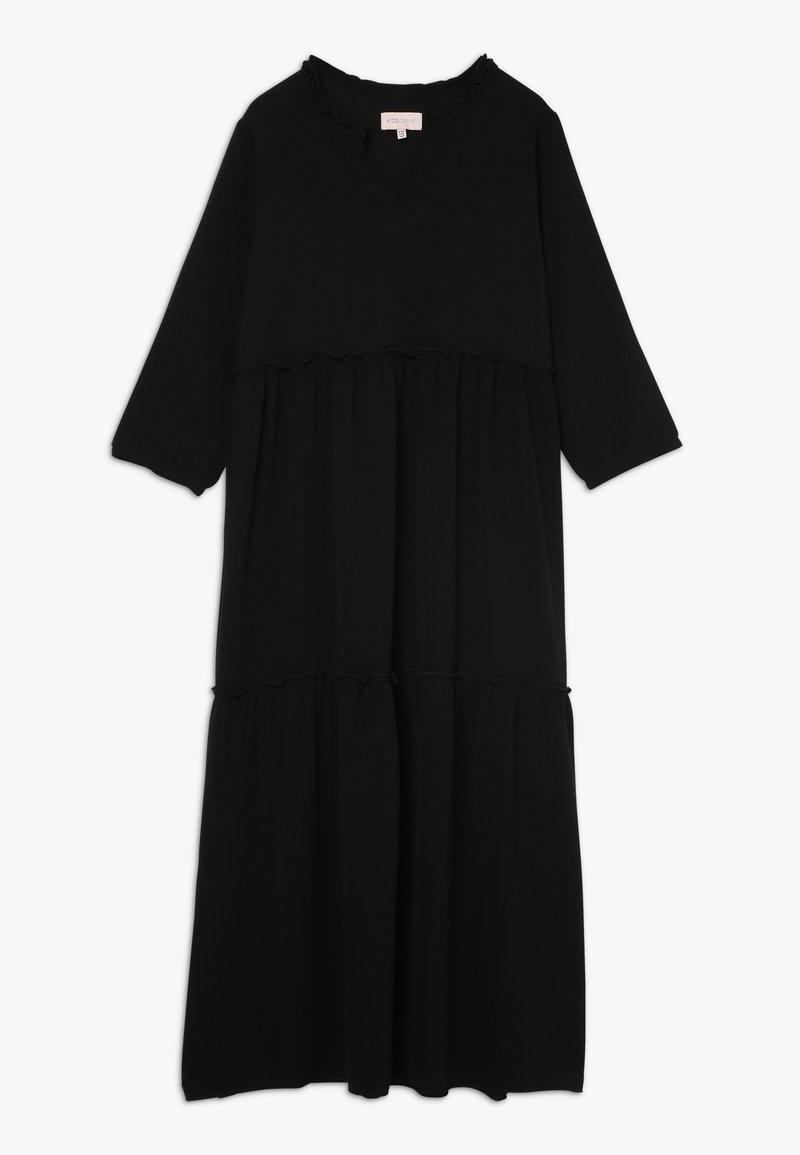 Kids ONLY - KONCOCO MIDI DRESS - Denní šaty - black
