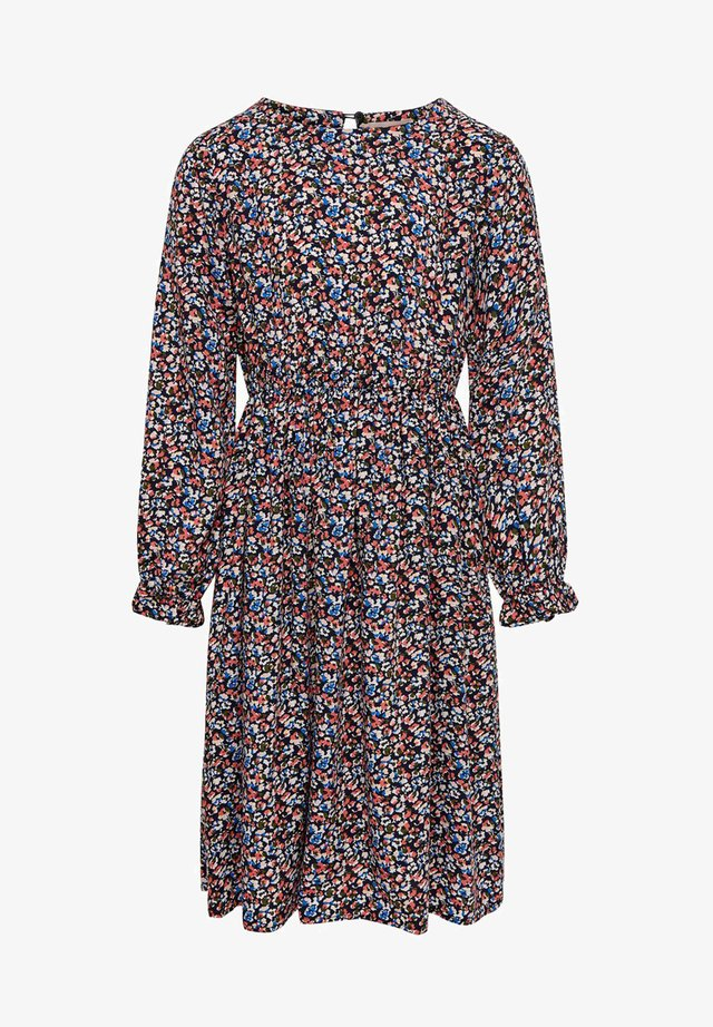 Day dress - peacoat