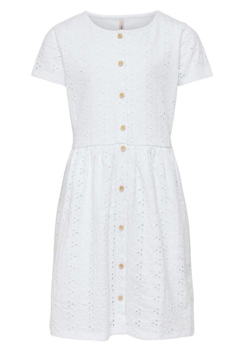 Kids ONLY - Shirt dress - bright white