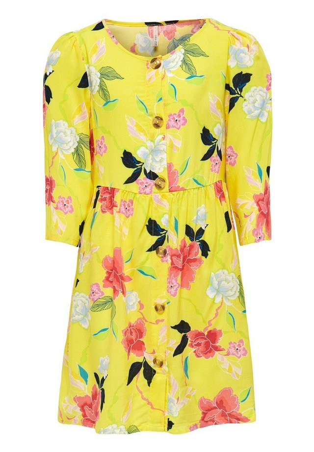 Shirt dress - buttercup