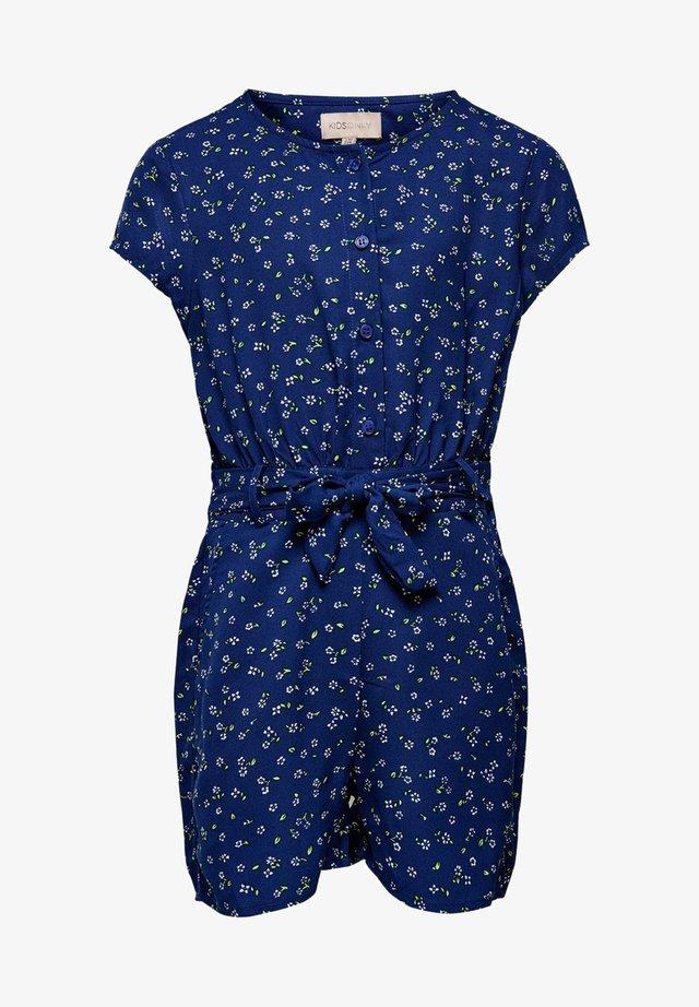 Overall / Jumpsuit - mazarine blue