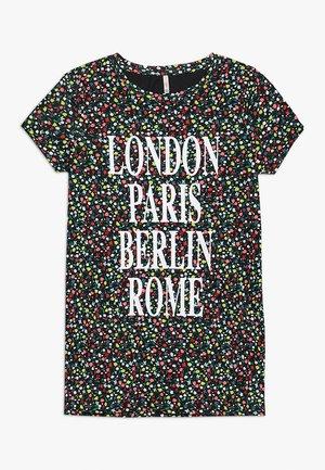 KONVILMA LONG - T-shirts print - black