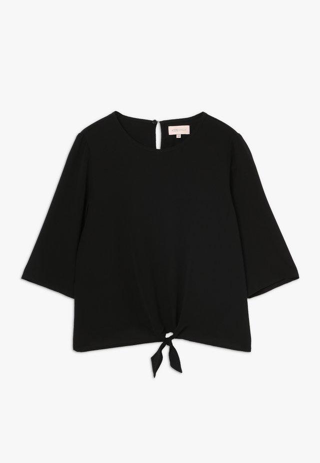 KONCOCO 3/4 KNOT  - Blouse - black