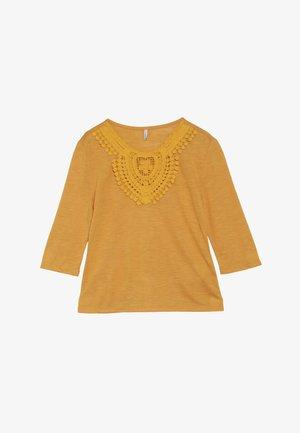 KONISA 3/4 - Pitkähihainen paita - cadmium yellow