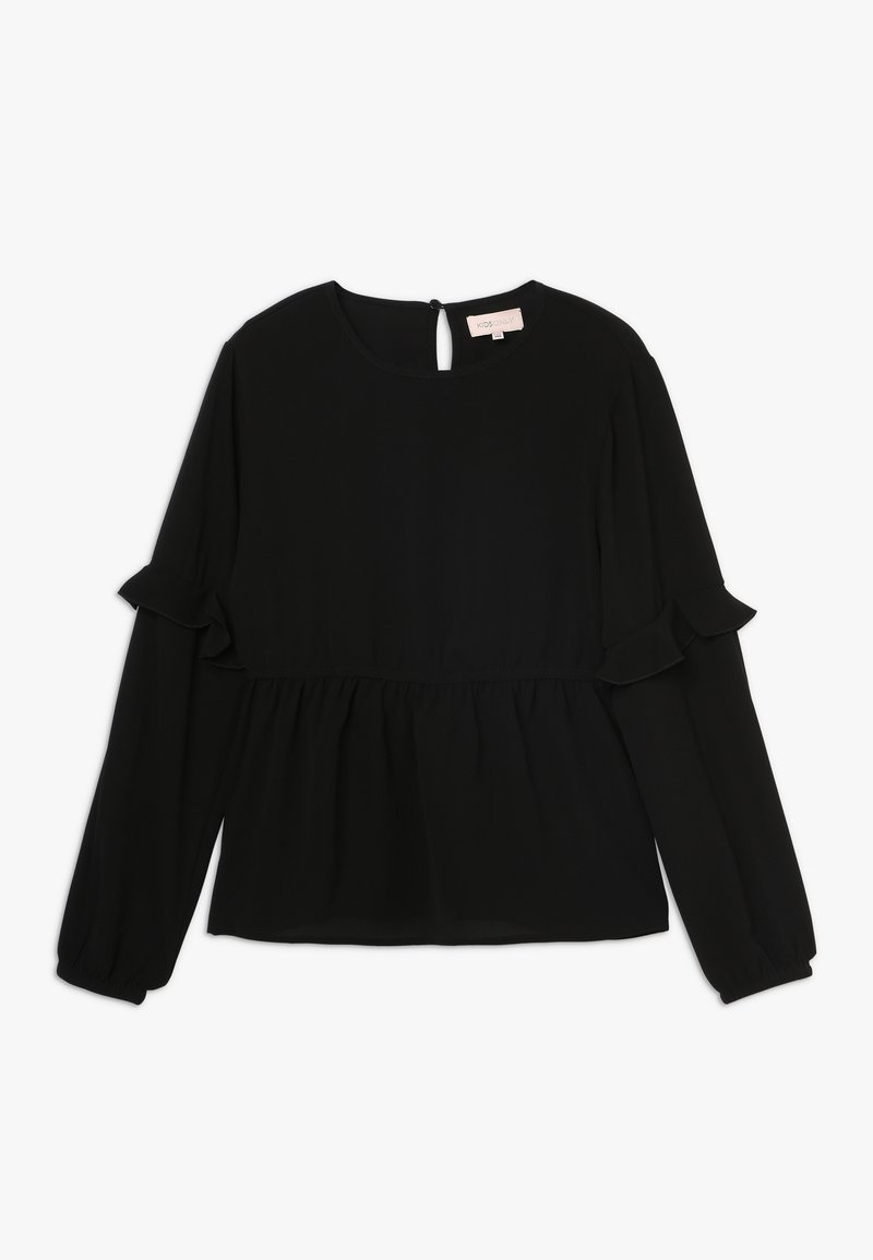 Kids ONLY - KONCOCO FRILL - Túnica - black