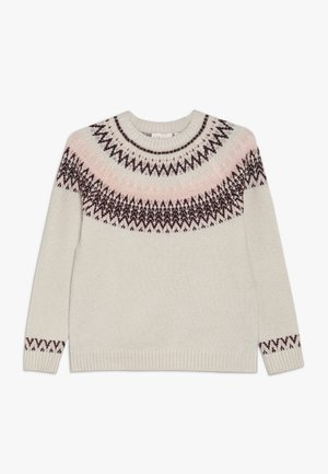 KONELLA - Pullover - whitecap gray/melange/strawberry