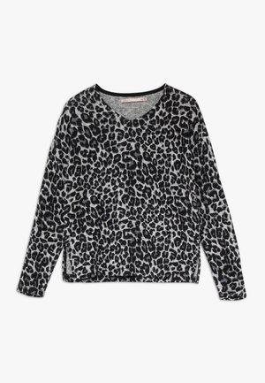 KONMAYE LEO  - Stickad tröja - light grey melange