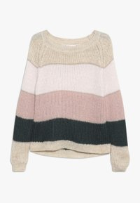 Kids ONLY - KONMALONE - Strickpullover - pumice stone/primrose pink/misty - 0