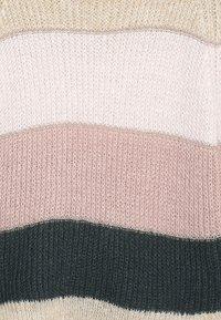Kids ONLY - KONMALONE - Strickpullover - pumice stone/primrose pink/misty - 3