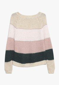 Kids ONLY - KONMALONE - Strickpullover - pumice stone/primrose pink/misty - 1