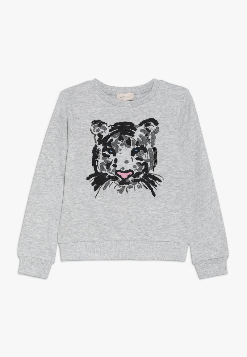 Kids ONLY - KONTIGER O NECK - Sweatshirt - light grey melange