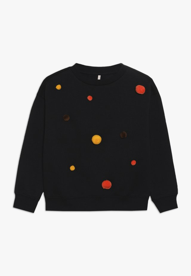 KONTEDDY DOT O-NECK - Mikina - black