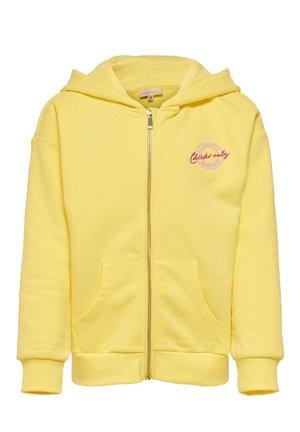 Zip-up hoodie - pineapple slice