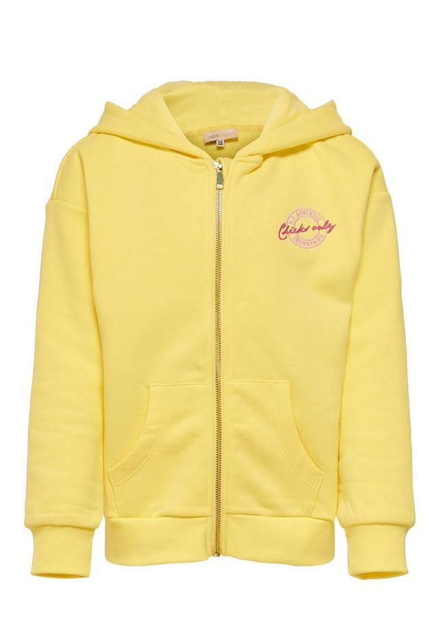 Zip-up hoodie - pineapple slice