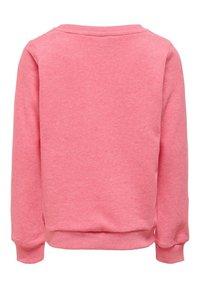 Kids ONLY - SWEATSHIRT STATEMENT - Sweatshirt - pink lemonade - 1