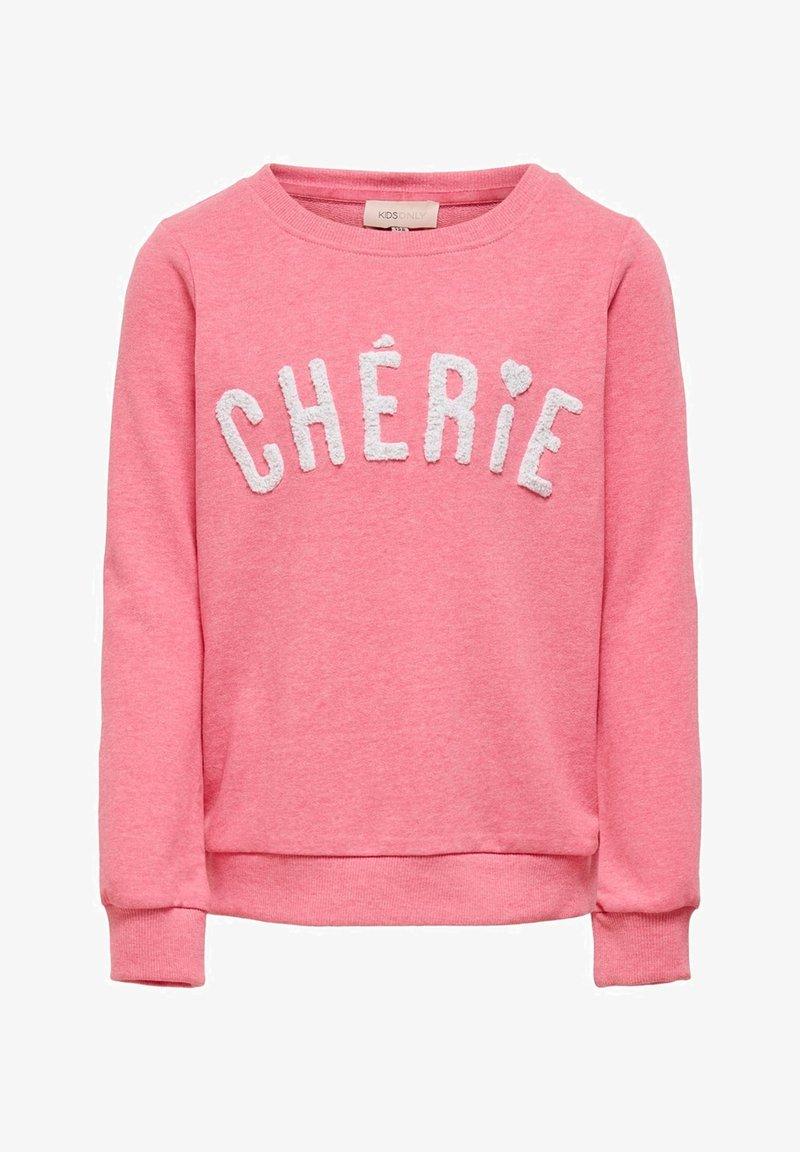 Kids ONLY - SWEATSHIRT STATEMENT - Sweatshirt - pink lemonade