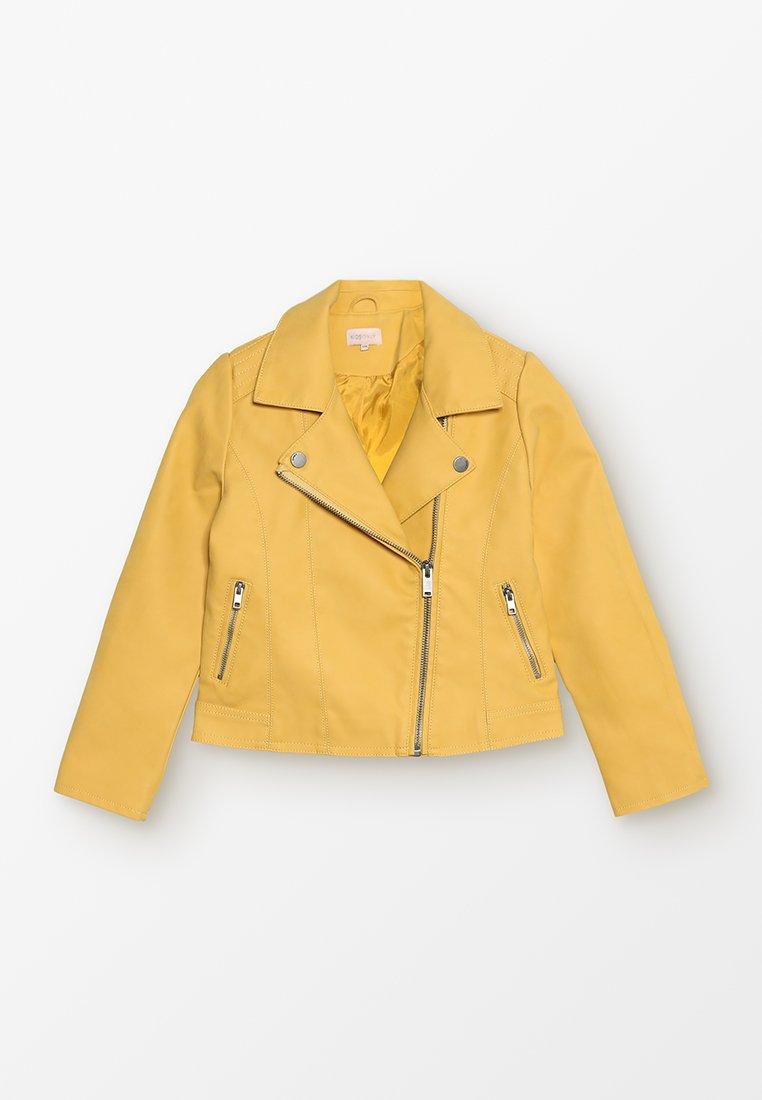 Kids ONLY - KONCARLA - Faux leather jacket - yolk yellow