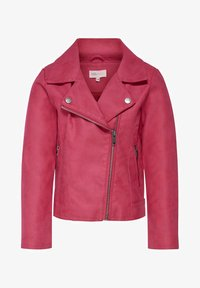 Kids ONLY - KONCARLA - Faux leather jacket - virtual pink - 0