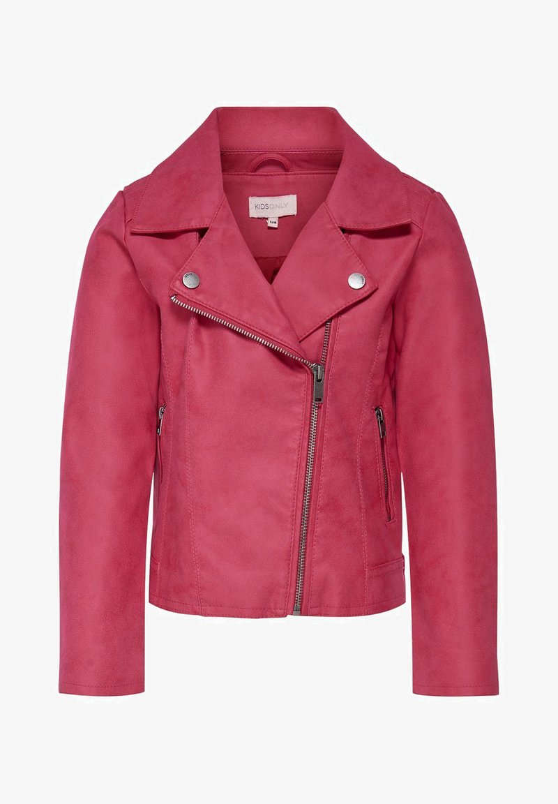 Kids ONLY - KONCARLA - Faux leather jacket - virtual pink