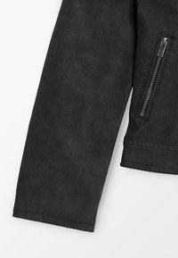 Kids ONLY - KONCARLA - Faux leather jacket - black - 2