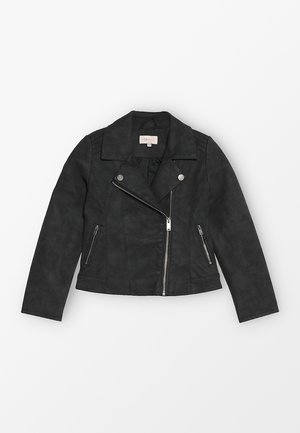KONCARLA - Faux leather jacket - black