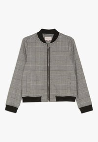 Kids ONLY - KONPOPTRASH SOFT CHECK - Bomber Jacket - medium grey melange - 0