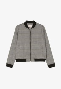 Kids ONLY - KONPOPTRASH SOFT CHECK - Bomber Jacket - medium grey melange - 2