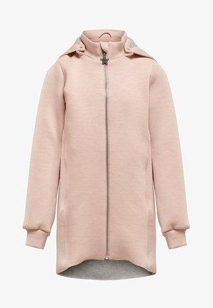 Classic coat - rose smoke
