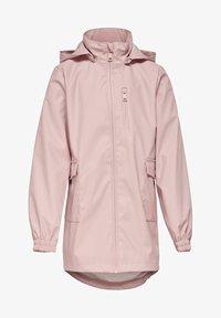 Kids ONLY - Waterproof jacket - rose smoke - 0
