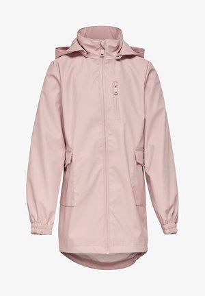 Waterproof jacket - rose smoke