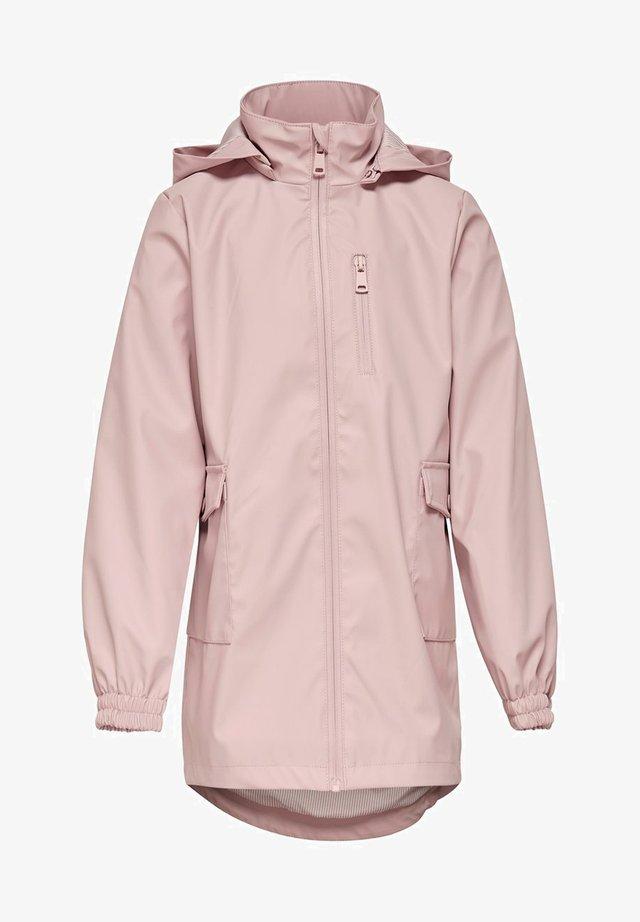 Waterproof jacket - rose smoke