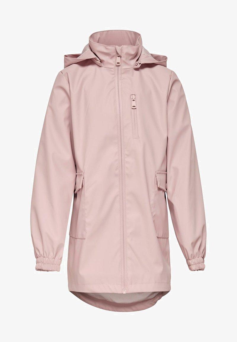 Kids ONLY - Waterproof jacket - rose smoke