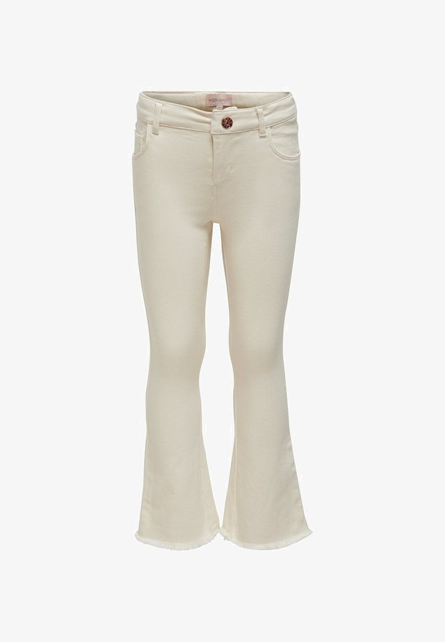 Jeans Bootcut - ecru