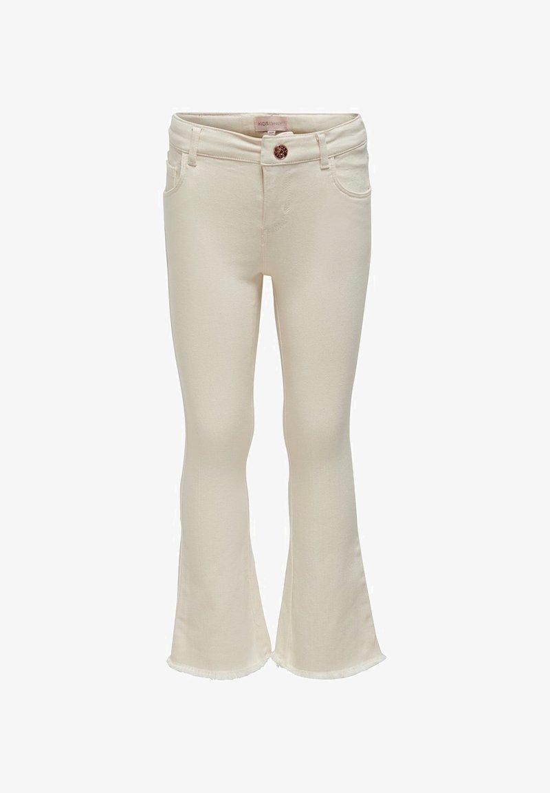 Kids ONLY - Jeans bootcut - ecru