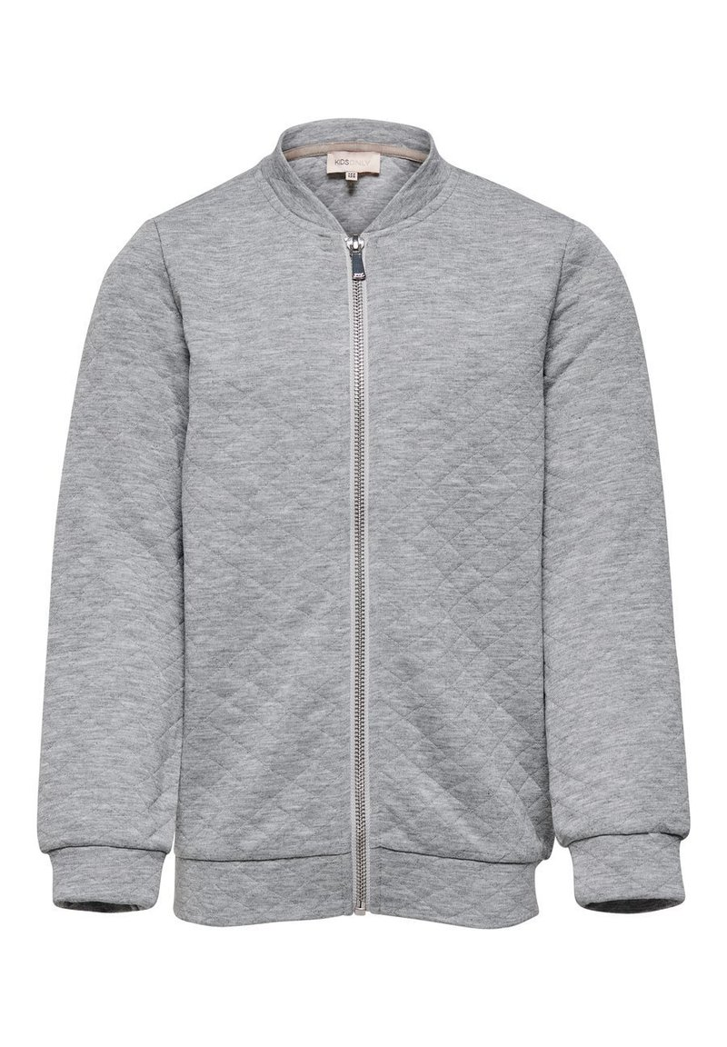 Kids ONLY - Bomber Jacket - light grey melange