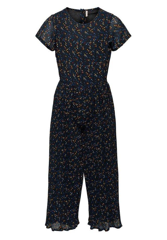 Overall / Jumpsuit /Buksedragter - black