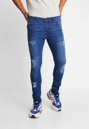 DISTRESSED  - Jeans Skinny Fit - mid wash