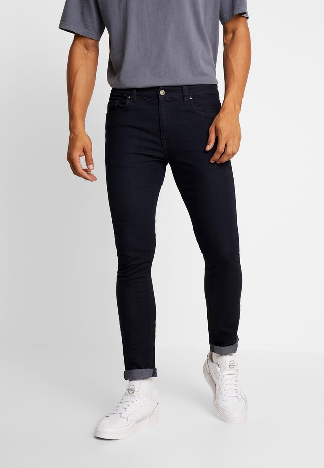Jeansy Skinny Fit - washed black