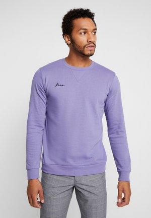 LOGO CREW NECK - Collegepaita - purple