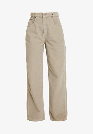 PANT - Pantalon classique - stone