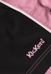 Kickers Classics - SIDE SEAM PANELLED MINI SKIRT - Mini skirt - pink/black - 2