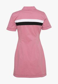 Kickers Classics - CHEST PANELLED FITTED DRESS - Shirt dress - pink - 1