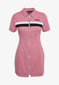 Kickers Classics - CHEST PANELLED FITTED DRESS - Shirt dress - pink - 0