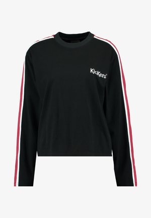 SLEEVE PANEL LONGSLEEVE - Topper langermet - black