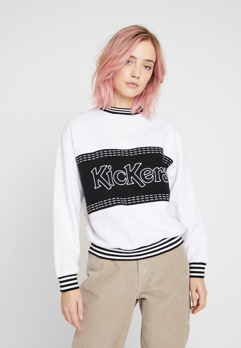 Kickers Classics - PANEL - Mikina - white