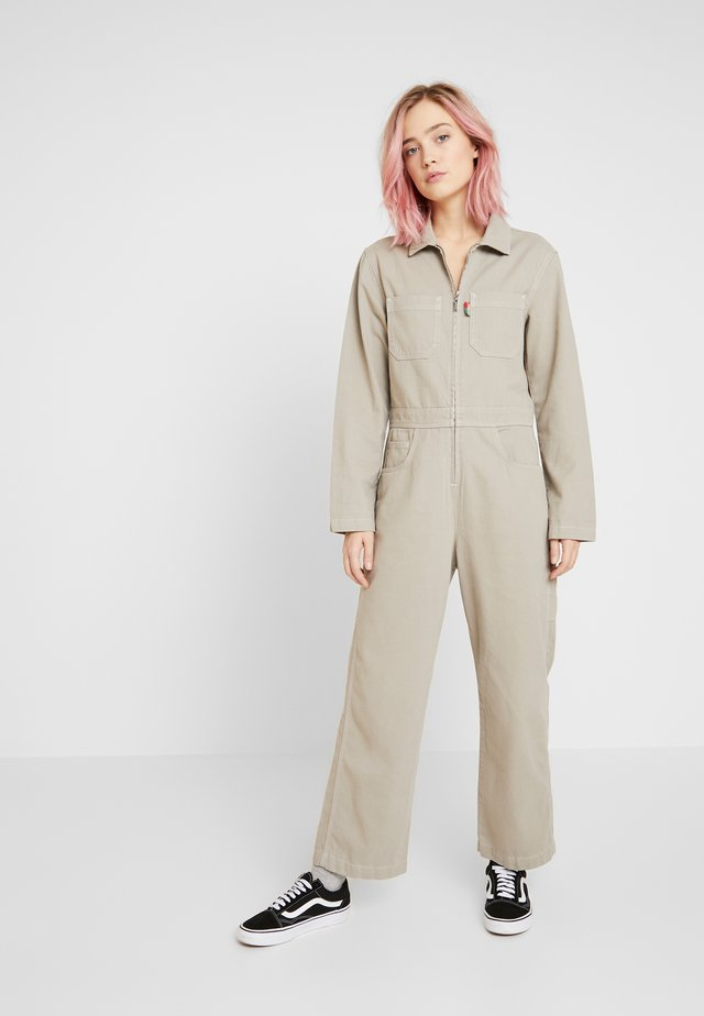 BOILERSUIT - Overall / Jumpsuit - stone